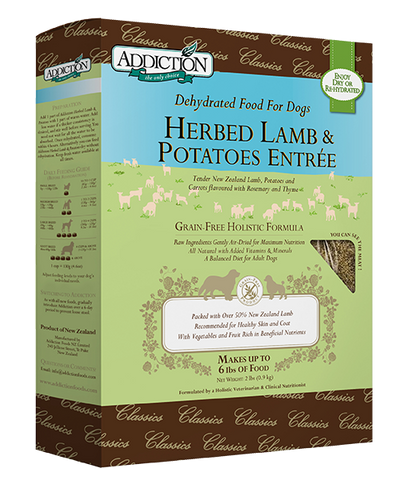 Addiction Dog Herbed Lamb & Potatoes 2lbs