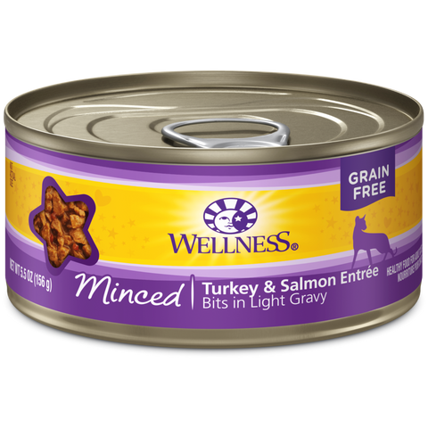 Wellness Complete Health Minced Turkey & Salmon Entree Bits in Light Gravy
