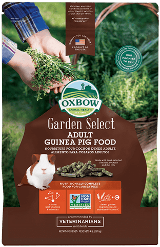 Oxbow Garden Select Adult Guinea Pig Food 4lbs