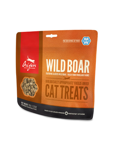ORIJEN Wild Boar Freeze-Dried Cat Treats 35g