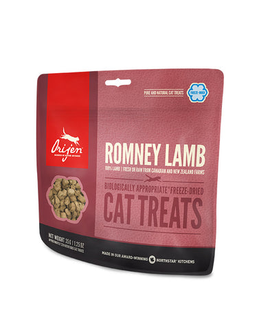 ORIJEN Romney Lamb Freeze-Dried Cat Treats 35g