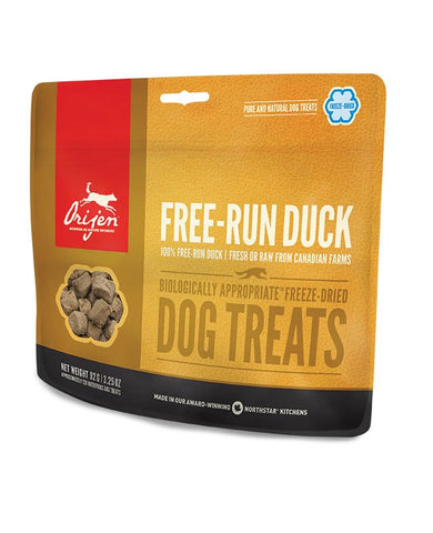 Orijen Free-Run Duck Freeze-Dried Dog Treats