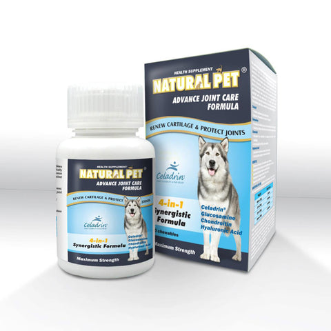 Natural Pet Advance Joint Care Formula Tablets 60tbs