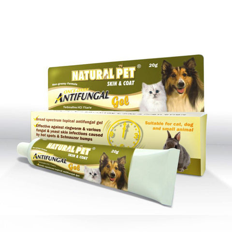 Natural Pet - Skin & Coat Anti-Fungal Gel 20g