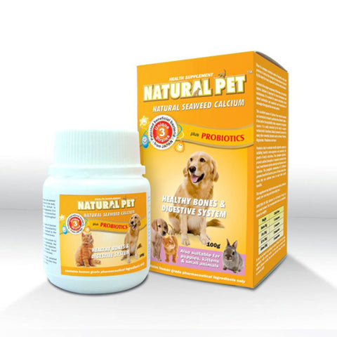 Natural Pet - Natural Seaweed Calcium Plus Probiotics 400g