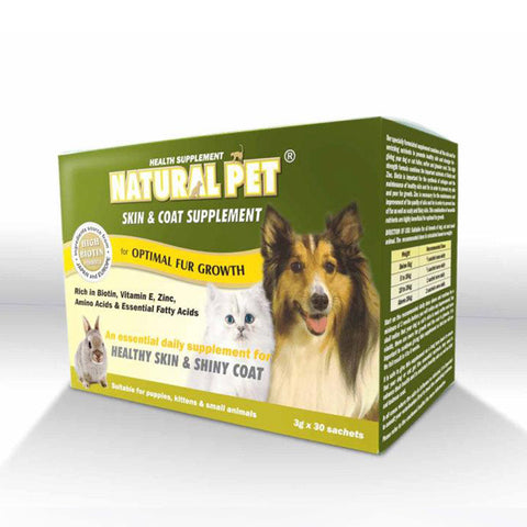 Natural Pet - Skin & Coat Supplement 400g powder