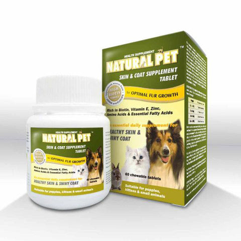 Natural Pet - Skin & Coat Supplement