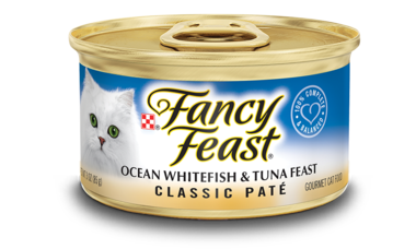 Fancy Feast Classic Ocean Whitefish & Tuna 85g x24