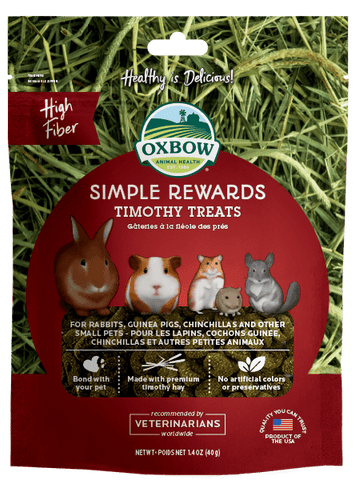 Oxbow Simple Rewards Timothy 40g