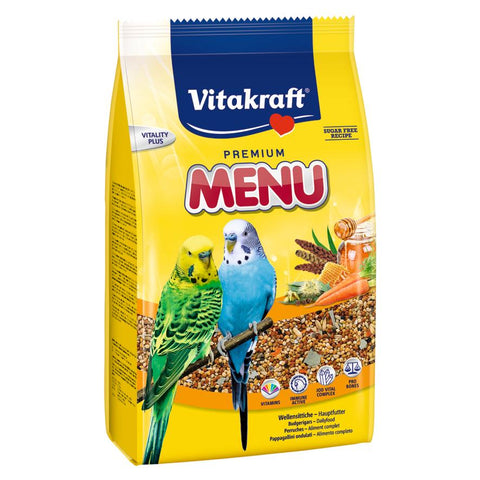 Vitakraft Menu Budgie Food 1kg