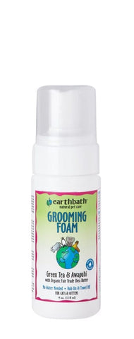 Earthbath Green Tea Leaf Cat Grooming Foam 4oz