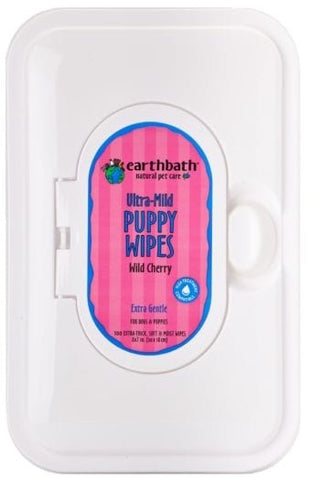 Earthbath Puppy Grooming Wipes