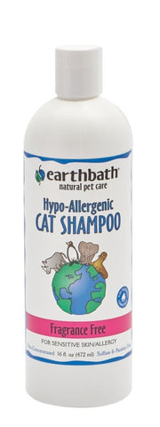 Earthbath Cat Hypo Allergenic Shampoo 16oz