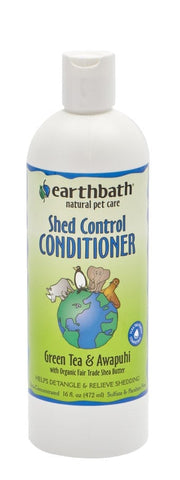 Earthbath Shed Control Conditioner Green Tea & AWAPUHI 16oz