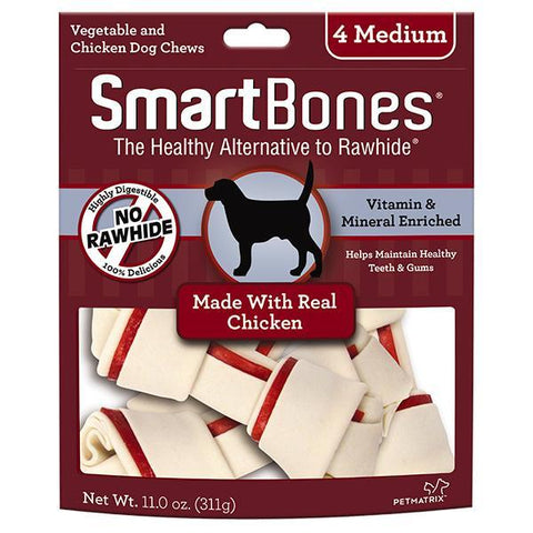 SmartBones Chicken Medium 4s
