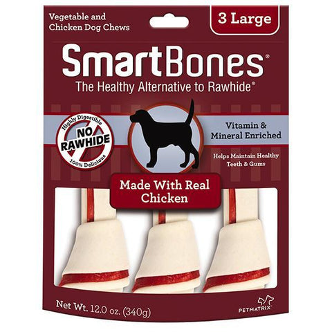 SmartBones Chicken Large 3s