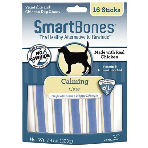 SmartBones Calming Care Dog Chew Sticks 16pc