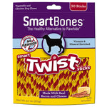 SmartBones Bacon & Cheese Smart Twist Sticks