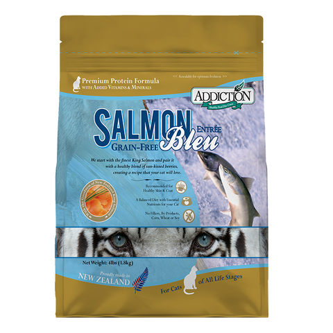 Addiction Cat Salmon Bleu