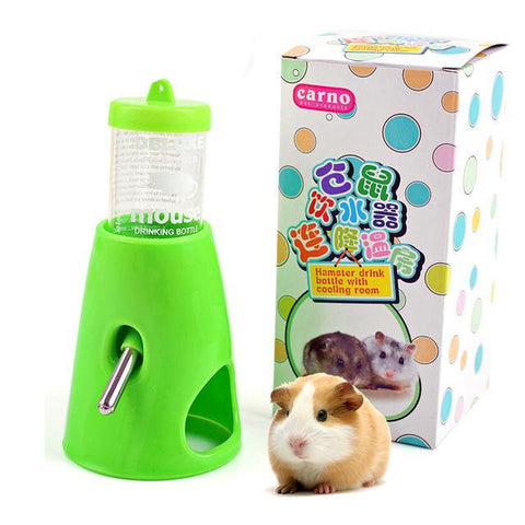Carno 2 in 1 Drinking Bottle for Hamsters