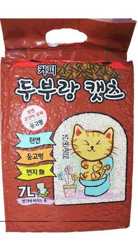 Love Cat Korea Tofu Litter Coffee 7L
