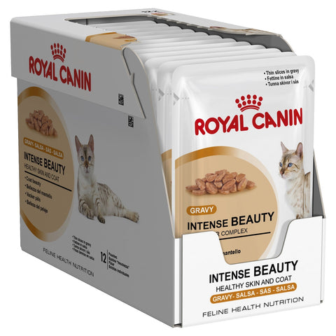Royal Canin Intense Beauty Food Pouch 12 x 85g