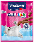 Vitakraft Cat Stick Mini Salmon and Trout x10pkts