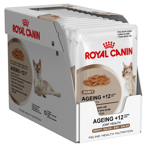 Royal Canin Ageing +12 Food Pouch 12 x 85g