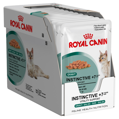 Royal Canin Instinctive +7 Food Pouch 12 x 85g
