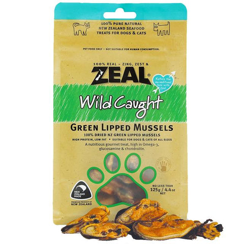 Zeal Freeze Dried Mussels for Dogs and Cats 50g