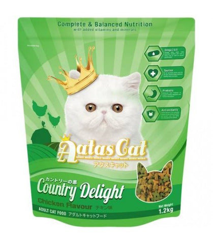 Aatas Cat Country Delight Cat Food 1.2kg