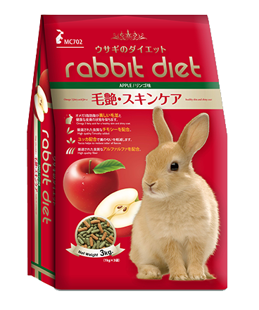 Rabbit Diet Apple Small Animal Food 3kg