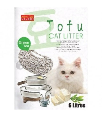 Aristo Cat Tofu Cat Litter Green Tea 6L