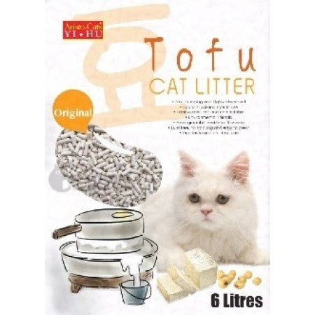 Aristo Cat Tofu Cat Litter Original 6L