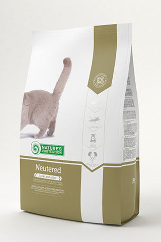 Nature's Protection Neutered Cat Food