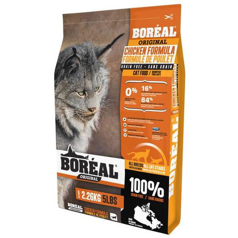 BORÉAL ORIGINAL CHICKEN GRAIN FREE CAT FOOD 5.44KG