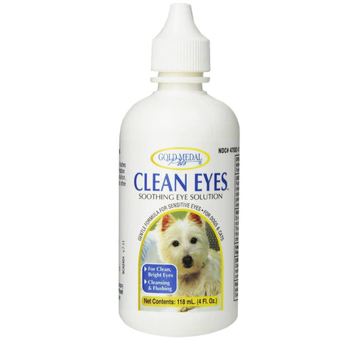 Gold Medal Clean Eyes for Dogs and Cats 4oz