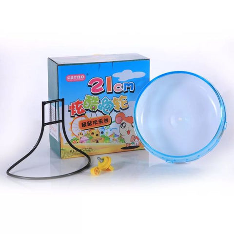 Carno Running Wheel for Hamster 21cm with Stand