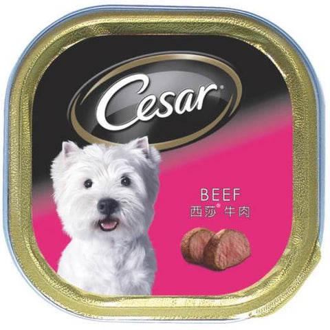 24 Trays of Cesar Beef Pate 100g