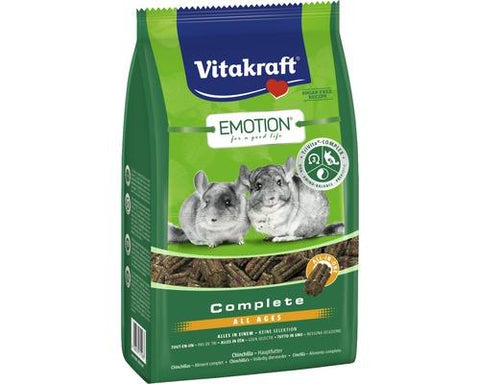 Vitakraft Emotion Complete Chinchilla Food 800g
