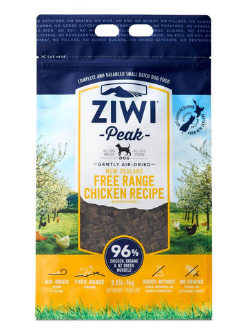 Ziwi Peak Air-Dried Free-Range Chicken For Dogs 1kg