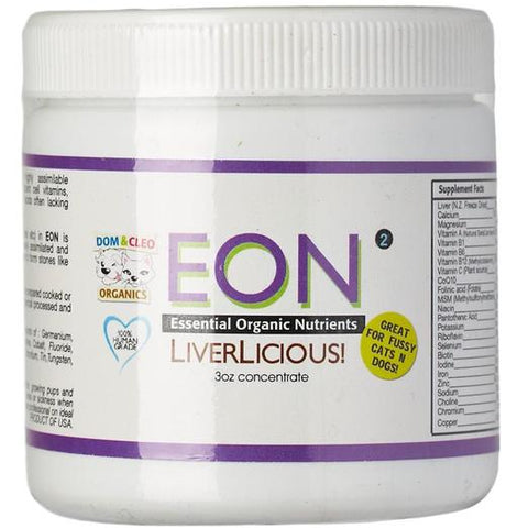 Dom & Cleo Eon Liverlicious For Fussy Dogs & Cats 3oz