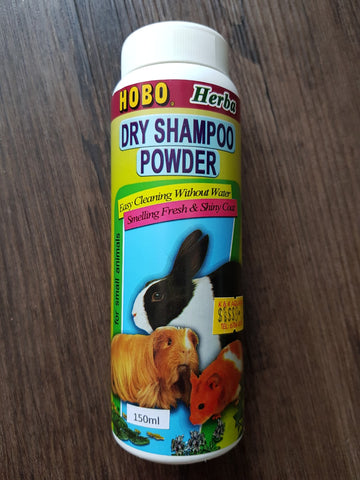 Hobo Dry Powder Shampoo Small Animal 150g
