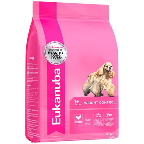 Eukanuba Adult Small and Medium Breed Weight Control Dog Food 3kg
