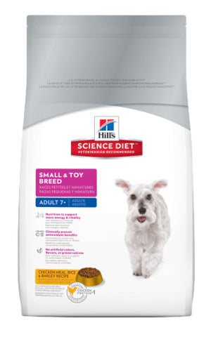 Science Diet Canine Small & Toy Mature 1.5kg