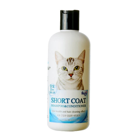 Forbis Cat Short Coat Shampoo & Conditioner 300ml