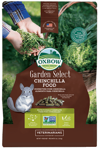 Oxbow Garden Select Chinchilla Food 3lbs