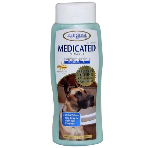 Gold Medal Medicated Shampoo 17oz