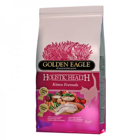 Golden Eagle Holistic Health Kitten Food 2 kg