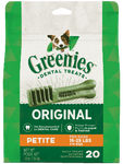 Greenies Dog Petite 20pcs x 12oz